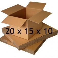 20 x 15 x 10 (Çift Oluklu Standart Koli)