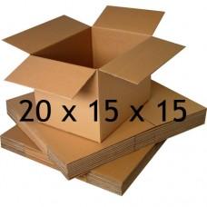 20 x 15 x 15 (Çift Oluklu Standart Koli)