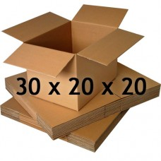 30 x 20 x 20 (Çift Oluklu Standart Koli)