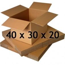 40 x 30 x 20 (Çift Oluklu Standart Koli)